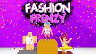 ROBLOX FASHION FRENZY | CLOTHING CATASTROPHE | RADIOJH GAMES & GAMER CHAD