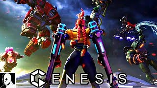 Genesis PS4 Gameplay Deutsch -  Mein erstes MOBA Game (DerSorbus)