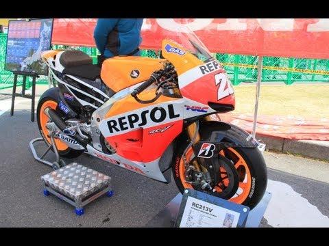 2013 MotoGP Repsol Honda RC213V Dani Pedrosa Machine!!