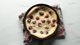 How To Make Cherry Clafoutis •Tasty