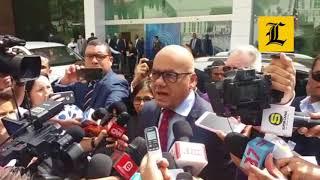 Gobierno de Venezuela dice no aceptarán presión externa; inicia 5ta ronda de diálogo en RD