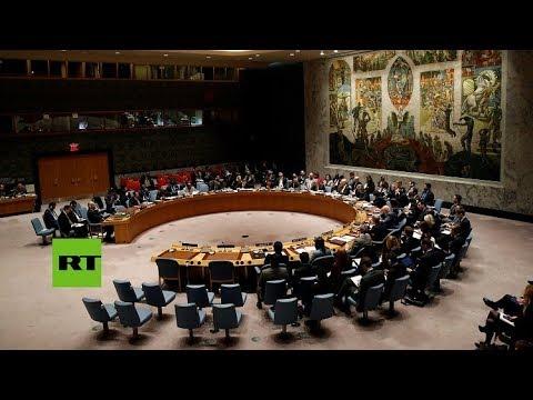 Reunión de emergencia del Consejo de Seguridad de la ONU tras el supuesto ataque químico en Siria