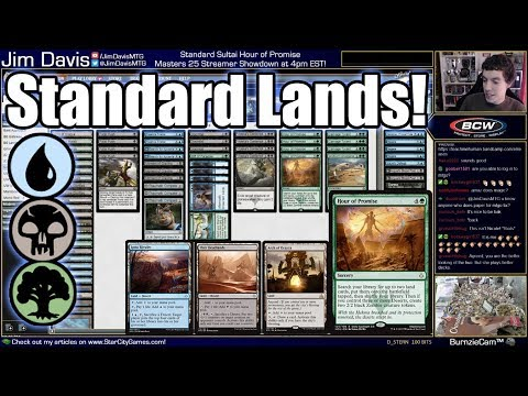Sick of Your Creatures Dying? Don't Play Any! Sultai Lands in Standard