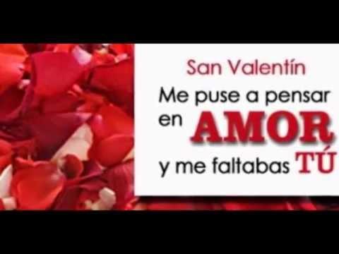Frases De Amor Para El 14 De Febrero Youtube