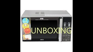 IFB 23 L Convection Microwave Oven 23SC3 Unboxing