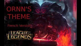 ◙Raku ◙ Ornn Theme | League of Legends 【French Version】(feat. Vulkain)