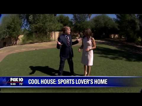 Cool House with Football Field, Baseball Diamond and Equestrian Center
