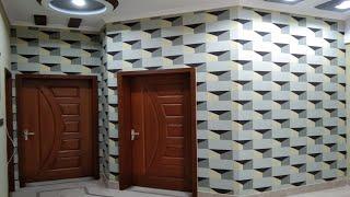wall colour design | 3D wall painting | how to make a 3D wall design | interior design смотреть онлайн в хорошем качестве бесплатно - VIDEOOO