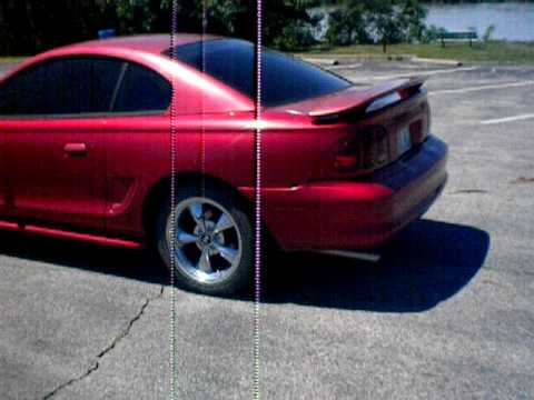 1998 Mustang Gt upr off road xpipe flowmaster super 44s ...