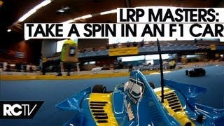 A Few Laps in an F1 car at the LRP Masters 2012