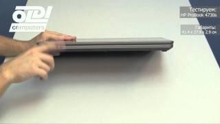 Обзор ноутбука HP ProBook 4730s