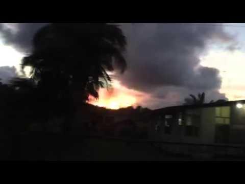 sunset at Borongan Eastern Samar
