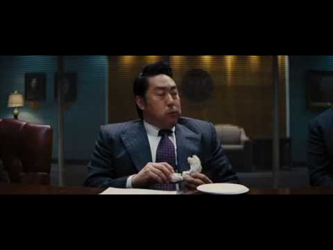 Kenneth Choi THE WOLF OF WALL STREET interrogation scene