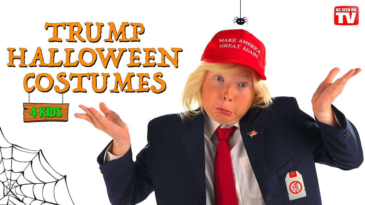 Donald Trump Inspired Halloween Costumes For Kids - YouTube