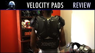 Xenith Velocity Shoulder Pad Review - Ep 256