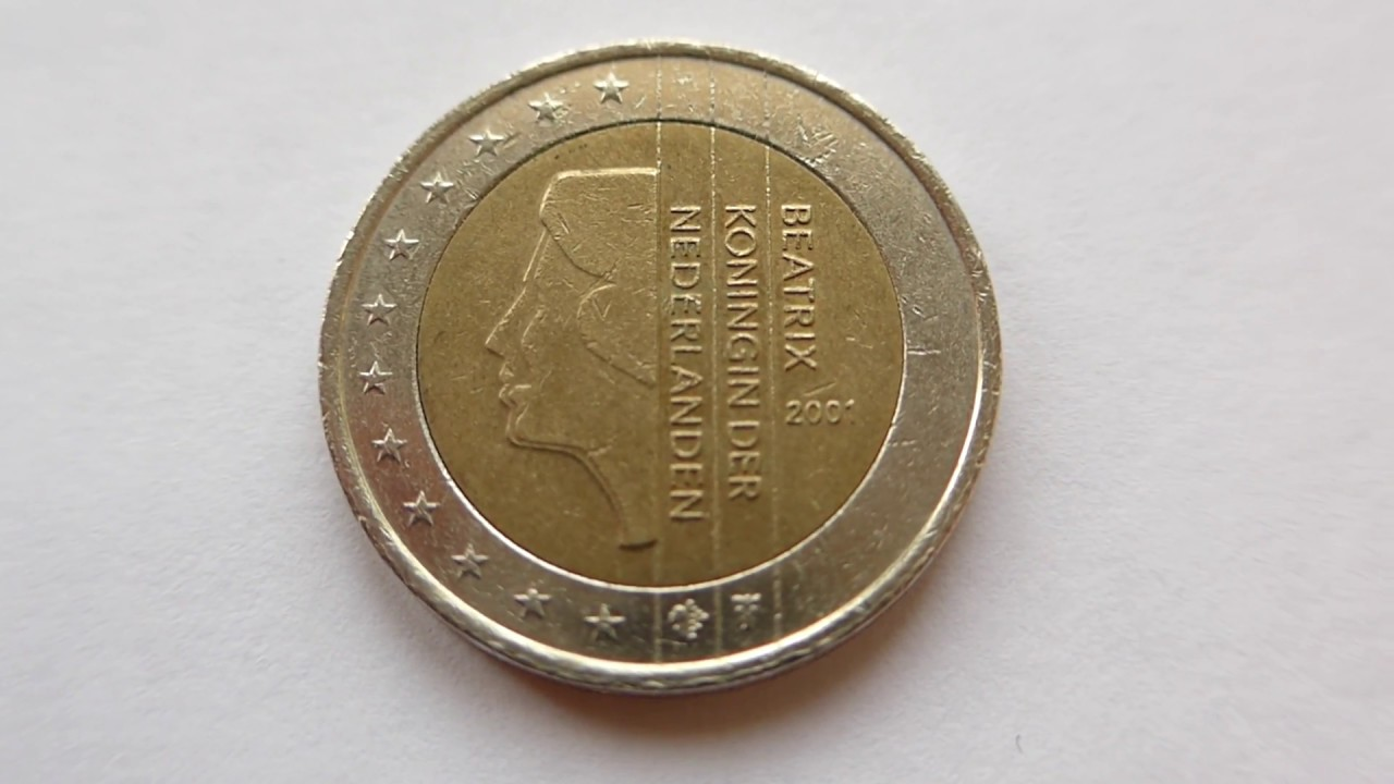 2 euro coin netherlands 2001 youtube - Piece 2 euros la plus chere ...