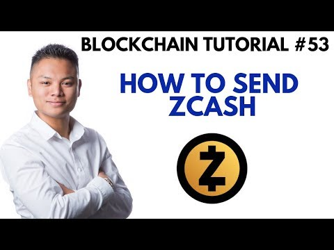 Blockchain Tutorial #53 - How To Send Zcash Using The Guarda Wallet
