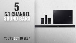Top 5 5.1 Channel Sound Bars [2018]: Samsung KM57C 5.1-Channel 460W Bluetooth Soundbar w/ Wireless