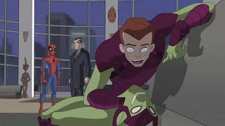 Spectacular Spider-Man (2008) Green Goblin is Harry Osborn part 2/2
