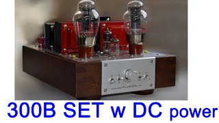 FLUXION GM-2, 300B SE tube amplifier, building and testing