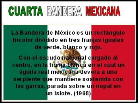 BANDERA DE MEXICO Verde Blanco y Rojo  YouTube