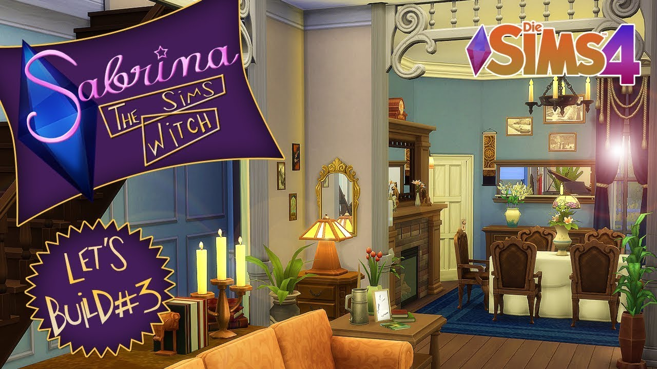 Esszimmer Sims 4 Sims 4 Let S Build Sabrina Offenes Esszimmer 3