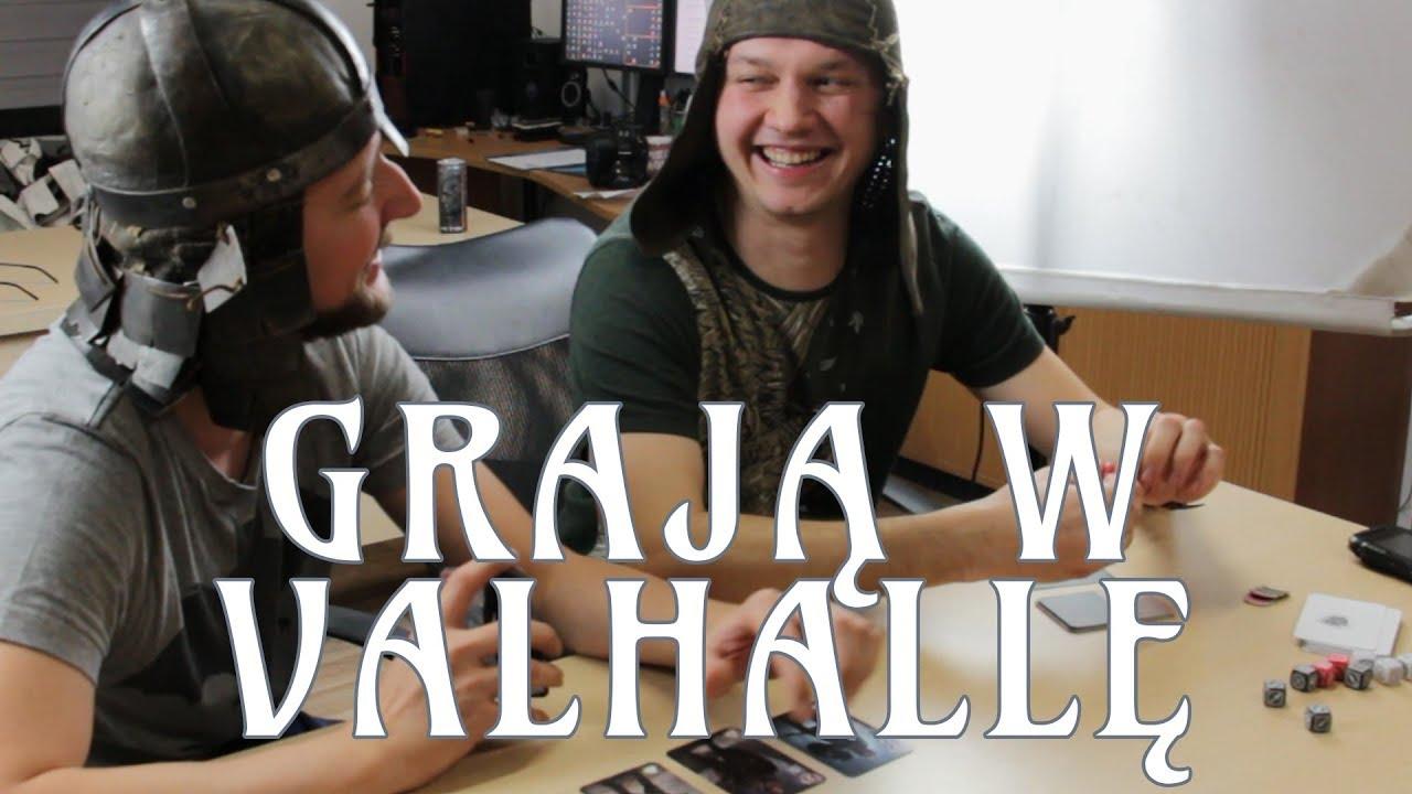 Wizyta u recenzentów z Valhallą :)
