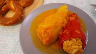 Как я готовлю фаршированный перец - простой рецепт!