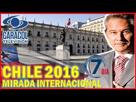 """CHILE Según TV COLOMBIANA: """"El Modelo Ejemplar de la Región"""" - Caracol TV"""