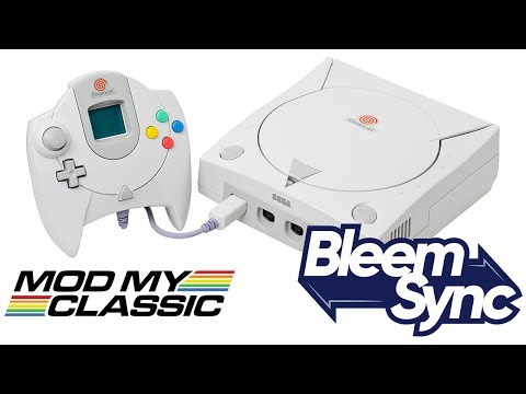 DEMO | Dreamcast running on the Playstation Classic!