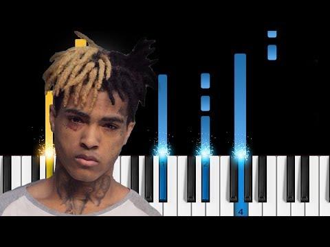 xxxtentacion---staring-at-the-sky---easy-piano-tutorial