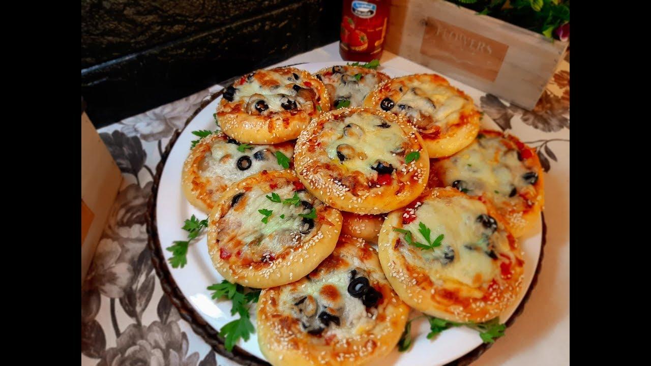 وصفة فطائر البيتزا الشهية