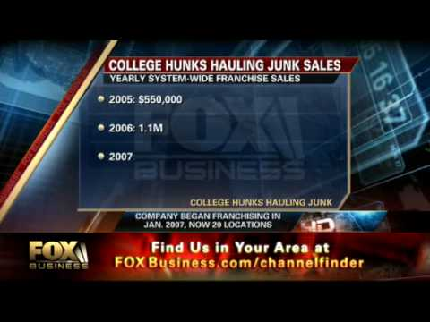 College Hunks Hauling Junk CEO Omar Soliman On Fox Business