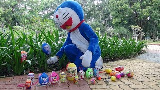 Doraemon hide and seek Eggs surprise