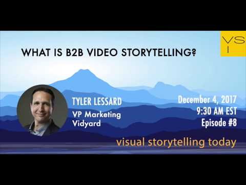 What is B2B video storytelling?