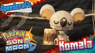 Pokemon Sun & Moon Papercraft ~Komala~