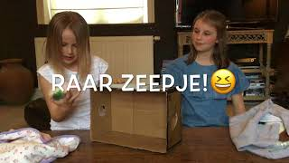 WHAT'S IN THE BOX CHALLENGE!!💜🙀