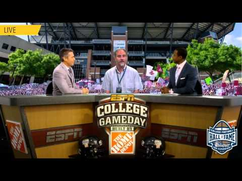 Gameday video from College Football Hall of Fame