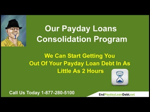 Debt settlement advice by Payday Loan Consolidation from YouTube · Duration:  56 seconds