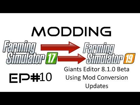 FS19 MODDING EP# 10 - Mod convert feature Giants Editor 8 1