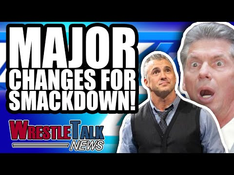 Shane & Stephanie McMahon WWE INCEST Storyline?! BIG SmackDown Changes! | WrestleTalk News Oct. 2018