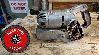 1950s Chain-driven Belt Sander [Rescue]