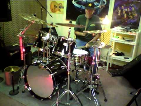 Jamin on the Pearl Prestige World 6500 drums
