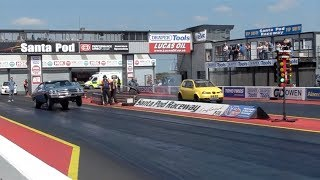 Darkside Developments Seat Arosa 2.0TDi vs Williams Bros. Racing 1969 Chevelle Pro ET Drag Car