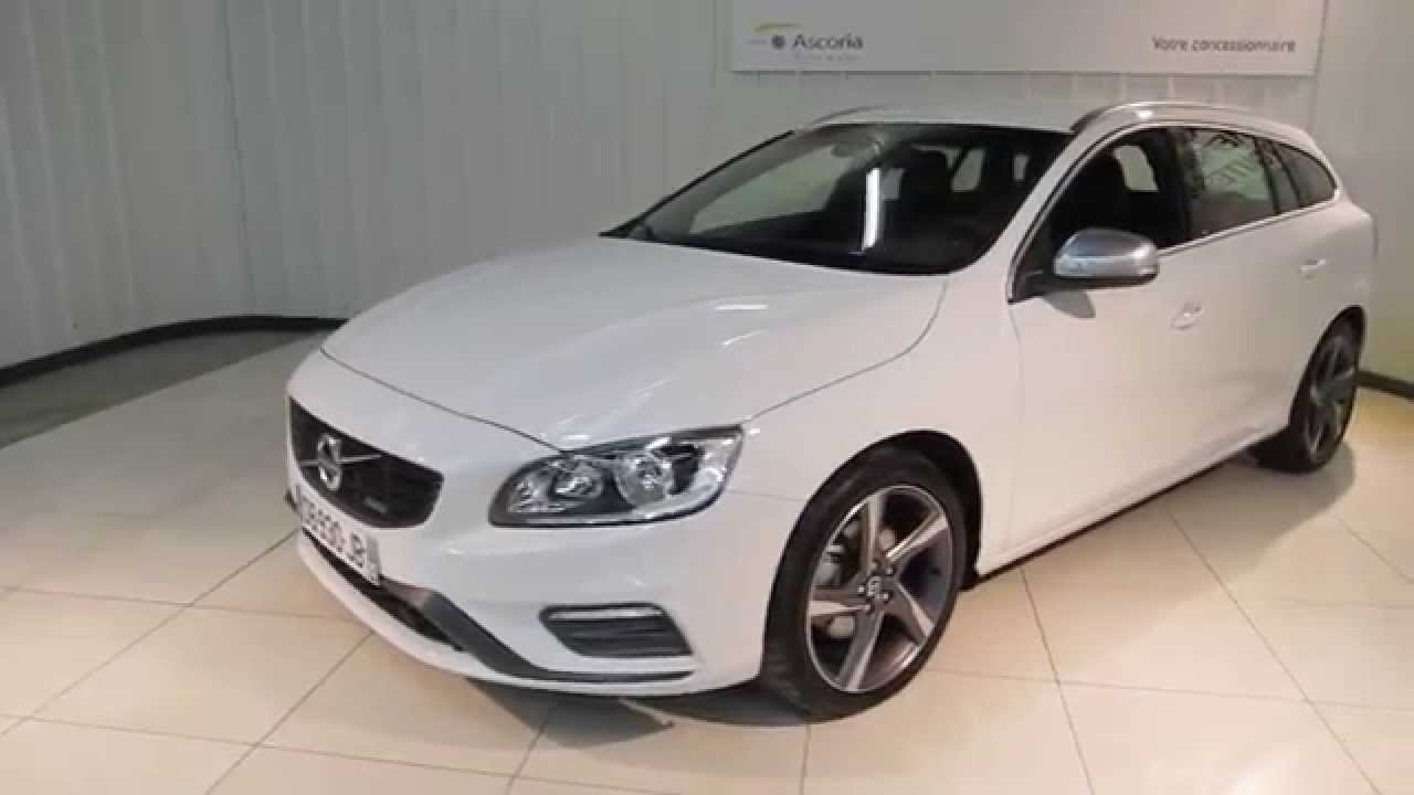 vid o volvo v60 d4 181cv geartronic voiture occasion renault quimper youtube. Black Bedroom Furniture Sets. Home Design Ideas