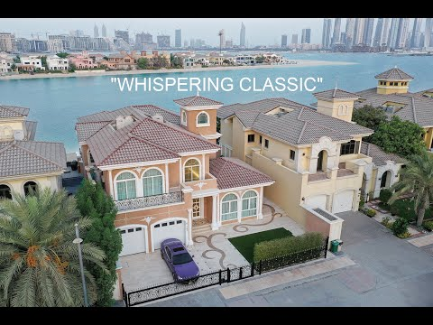 """WHISPERING CLASSIC"" Palm Jumeirah Luxury Villa - Dubai Design Group"