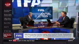 ESPN's Bob Ley gets frustrated with FIFA presidential election