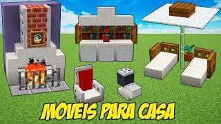 Minecraft (Top5): NOVAS IDEIAS DE MÓVEIS PARA SUA CASA