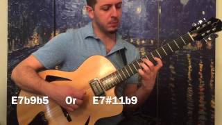 Chord of the Day 10 E7b9b5