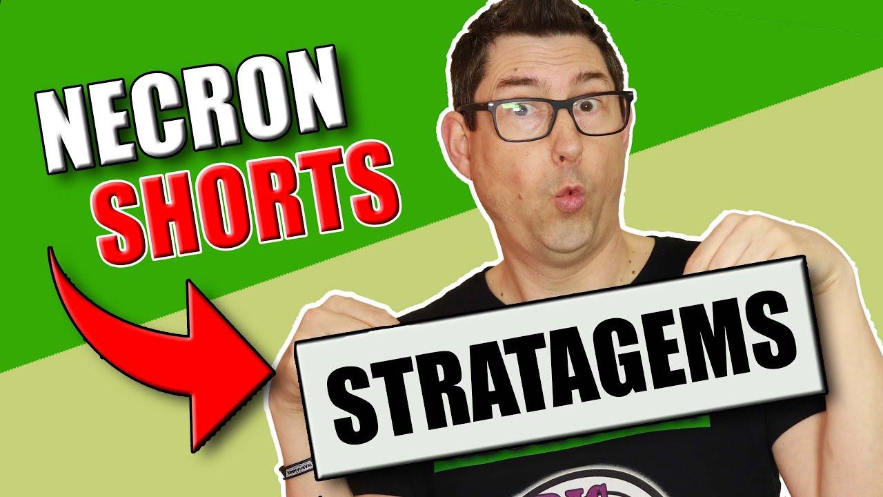Necron Stratagems 9th Edition - Necron #Shorts
